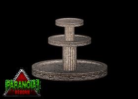 Mythology Fountain - Paranoia by budhiindra