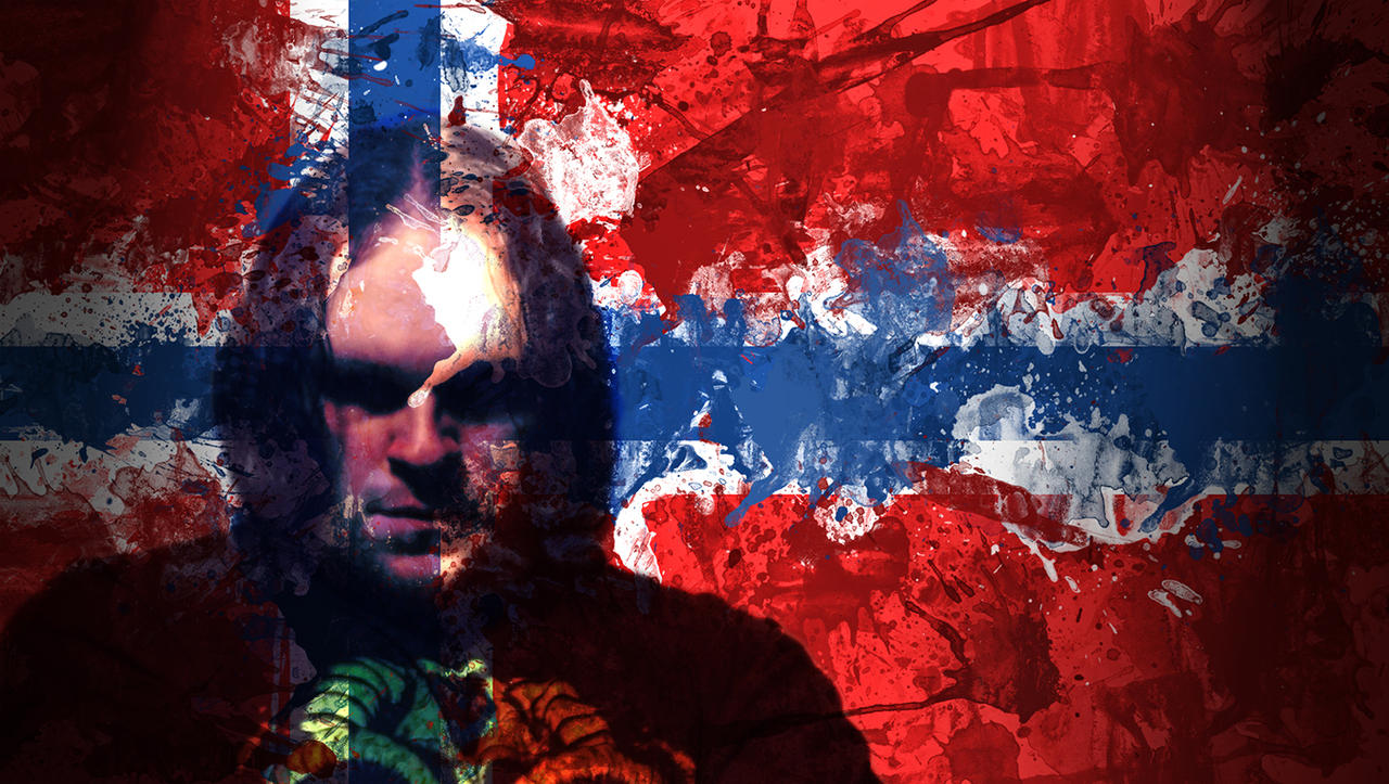 norwegian flag and myself by ninja wolf 13 on deviantart