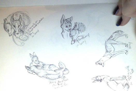 sketch book page 4  feb. 5,2o14