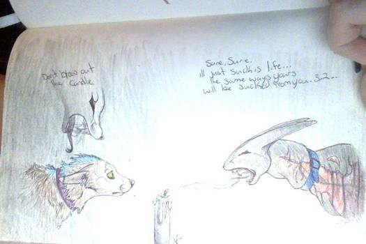 sketchbookpage9october25,2o13 THE Candle