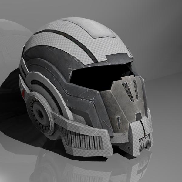 Mass Effect 2 Helm by CKuhn