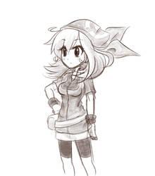 May - Pokemon (Sketch) by balitix