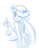 Mallow - Pokemon Sun and Moon (Sketch) by balitix