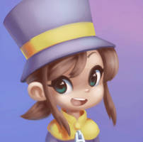 Hat Kid - A Hat in Time by balitix