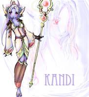 Kandi, ze Troll Priest by PokerBunz