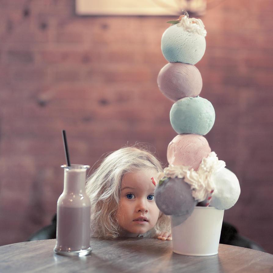 Ice cream by AnnaGrazhdankina