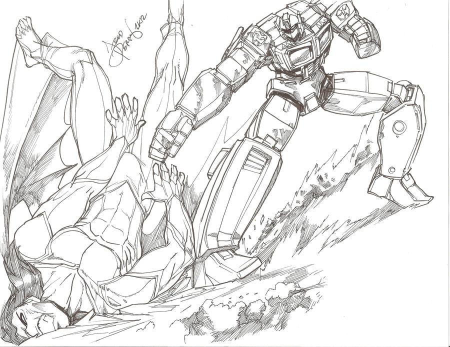 One shall stand, one shall fall! by NinjaKasuga