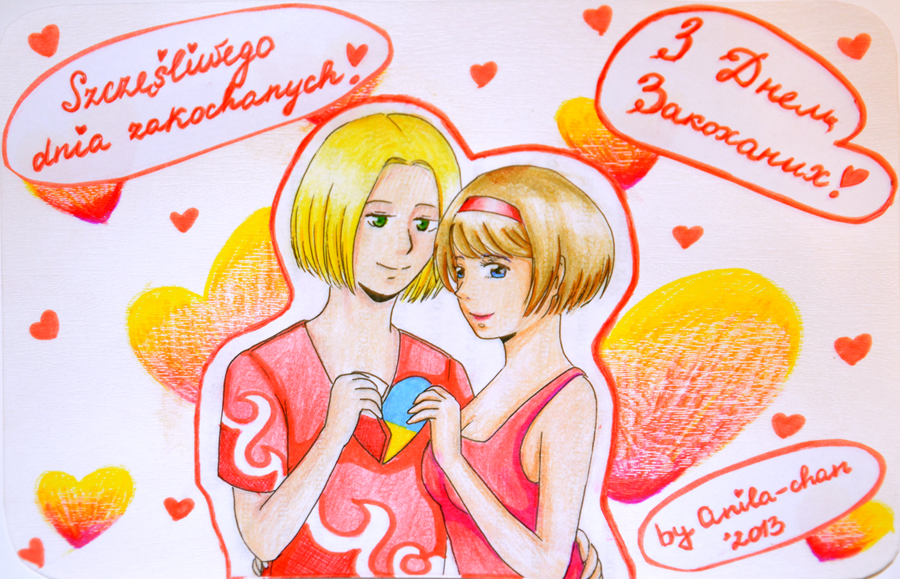 APH: Happy Valentine's Day! by Anila-chan