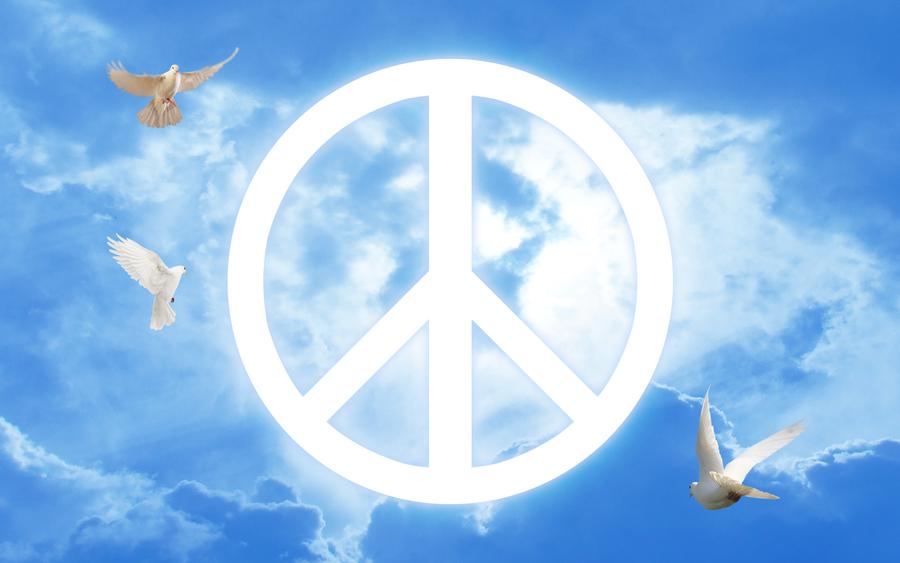 Symbol Of Peace Wallpaper By Scorpion81 On Deviantart