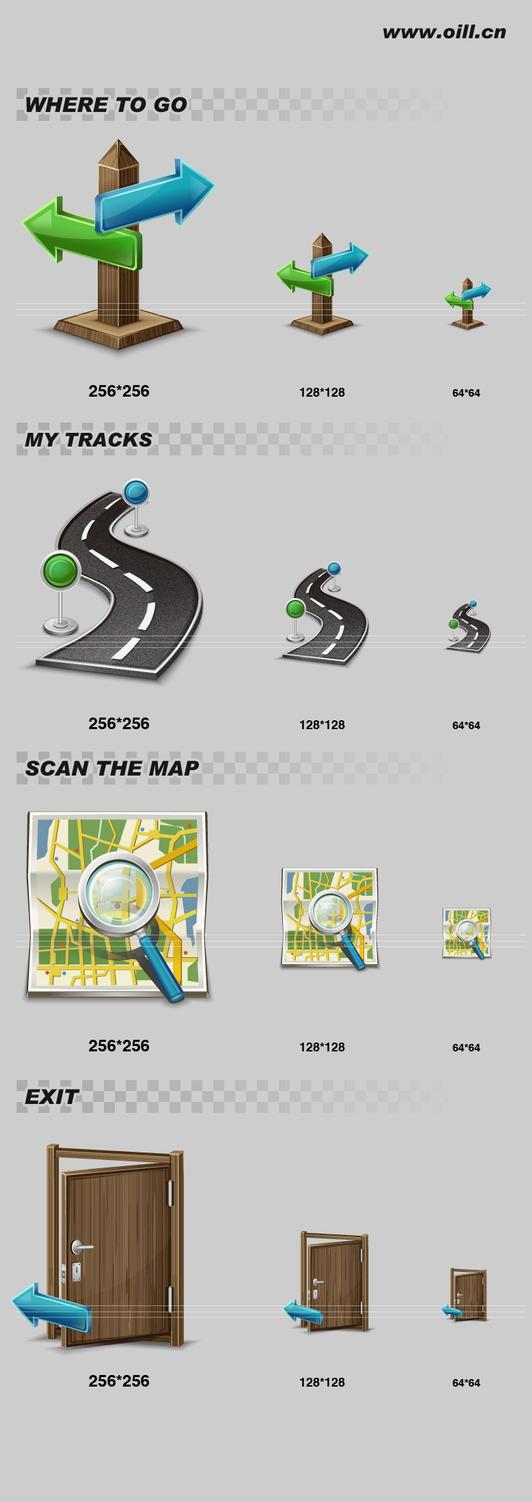 GPS ICON3 by liuyufei
