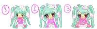 My Pixel Icon Poses by SprinkleBunny