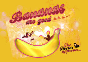 Bananas are good by Agrafkak