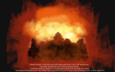 Burning City of Kar-Maljuna