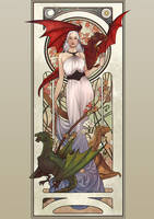 Mother of Dragons by lucasgomes