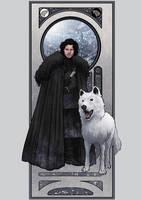 Jon Snow by lucasgomes