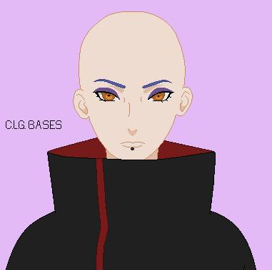 198 naruto konan akatsuki pixel base by clgbases on