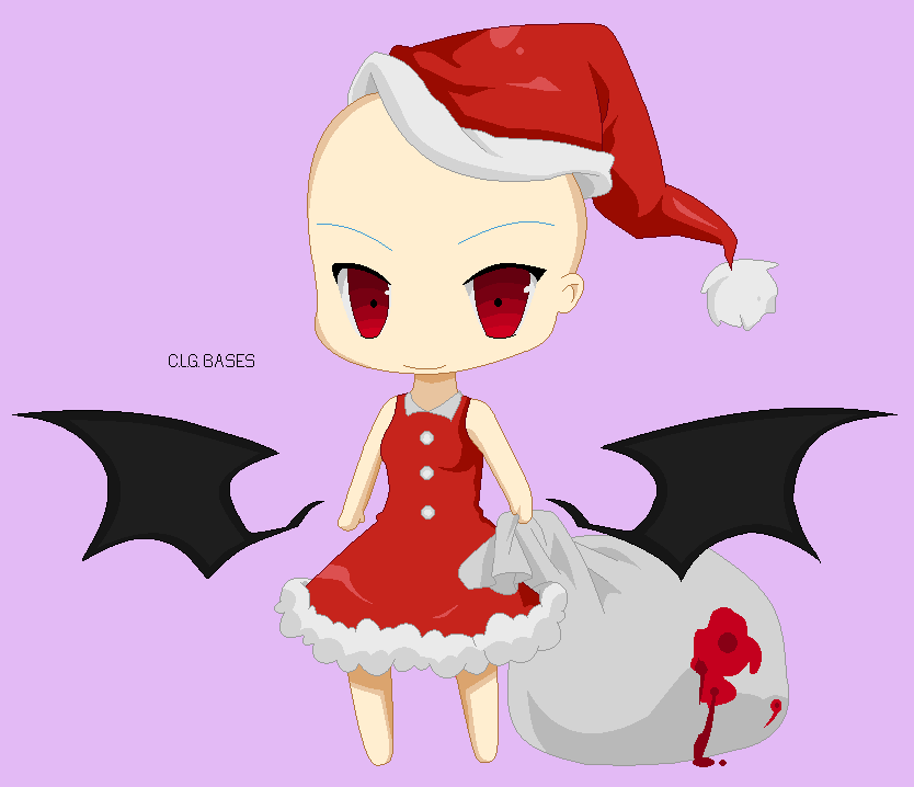 210: Christmas Pixel Base 4 :From Konachan: by CLGbases on DeviantArt