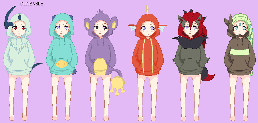 Are mistaken. pokemon girl base