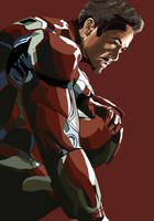 Iron Man Graphic by Nickyparsonavenger