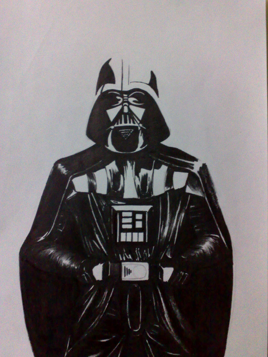 Darth Vader drawing in progress by aalexwerner on DeviantArt