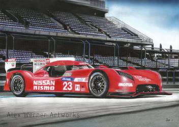 Nissan GT-R LM NISMO 2015 by aalexwerner