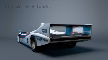 Martini Porsche 936 - 3D Model by aalexwerner