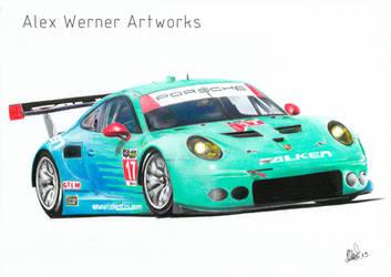 Team Falken Tire - Porsche 911 RSR TUSC by aalexwerner