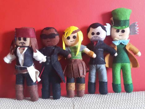 Handmade Plush Characters Part 7