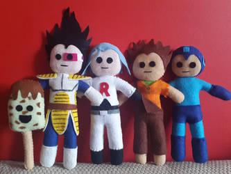 Handmade Plush Characters Part 8