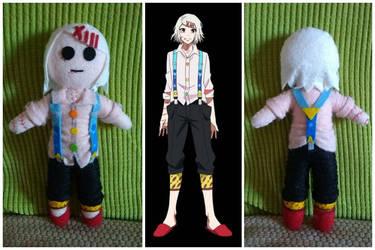 Handmade Plush Juuzou - Tokyo Ghoul