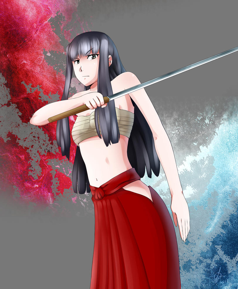 Motoko Aoyama - Love Hina by VeritoRojas