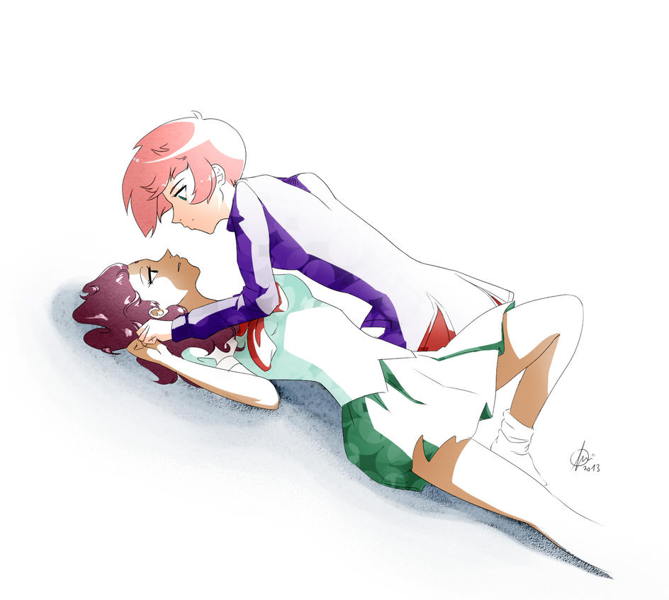 Utena x Anthy by VeritoRojas