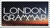 London Grammar Stamp  by LUMlN