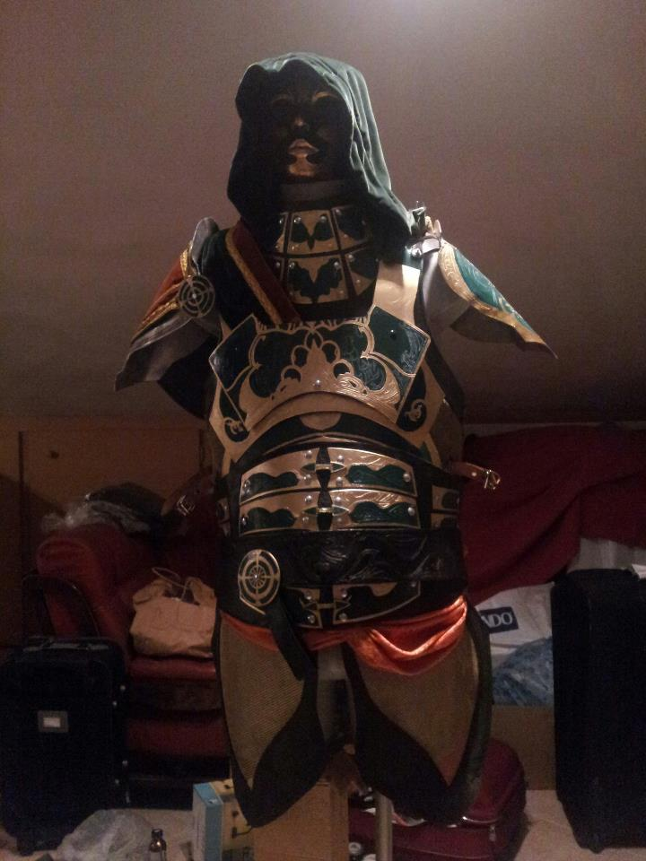 assassins creed ishak pasha armor cosplay by micizio on