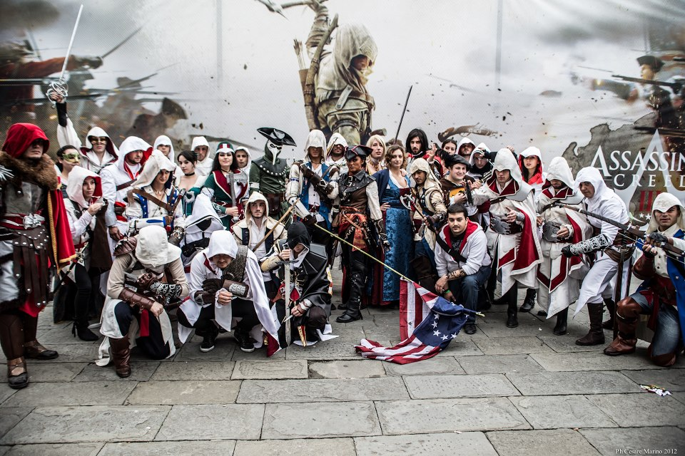 assassin's creed lucca comics 2012 by micizio