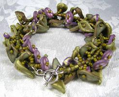 Flower Garden Bracelet by eerok1955