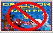 Anti Cartoon Fight Night Stamp