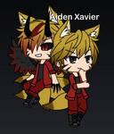 Aiden Xavier (Gachasona) by DevilBoy638