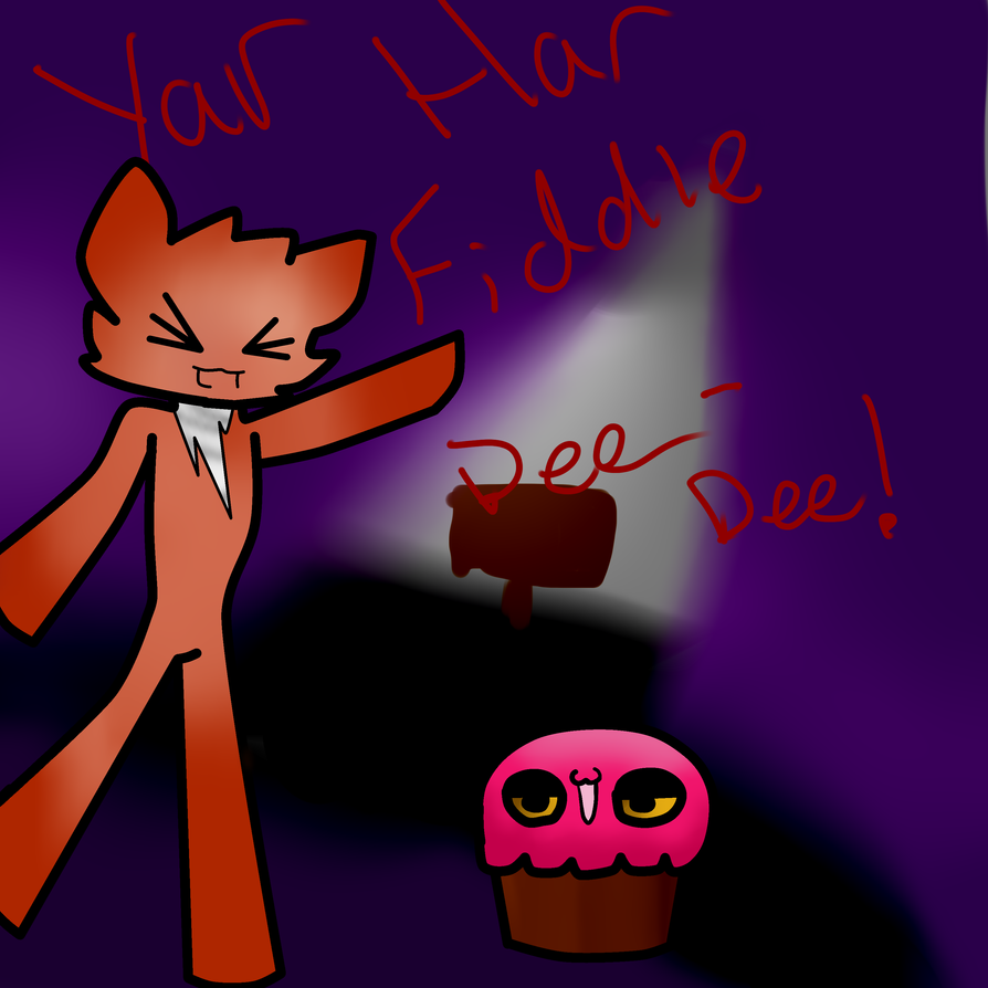 Foxy and Cupcake by Bluestar727