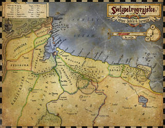 Map of Svetopetrograd by Lukc
