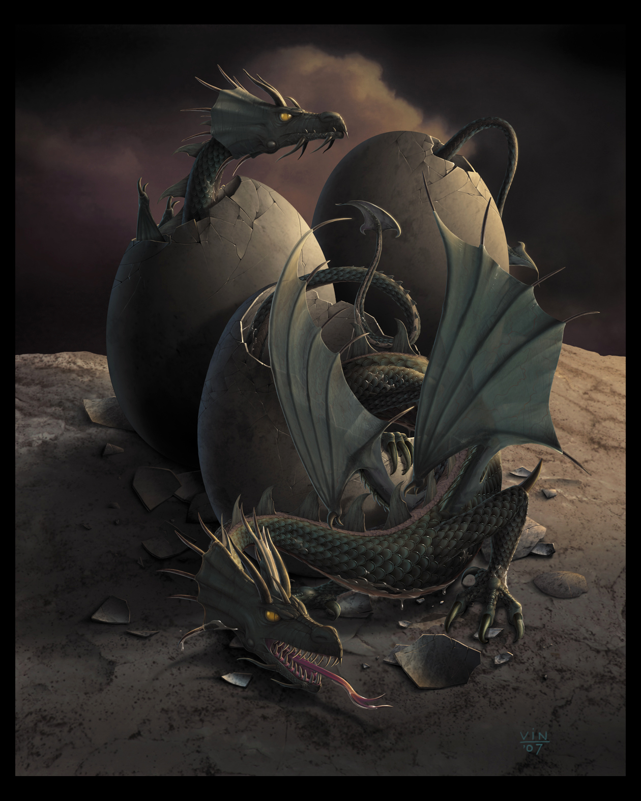 OFFSPRING - Dragon Art - by wallace on DeviantArt
