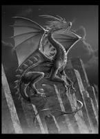 SILVER  -Dragon Art- by wallace