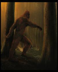Bigfoot by wallace