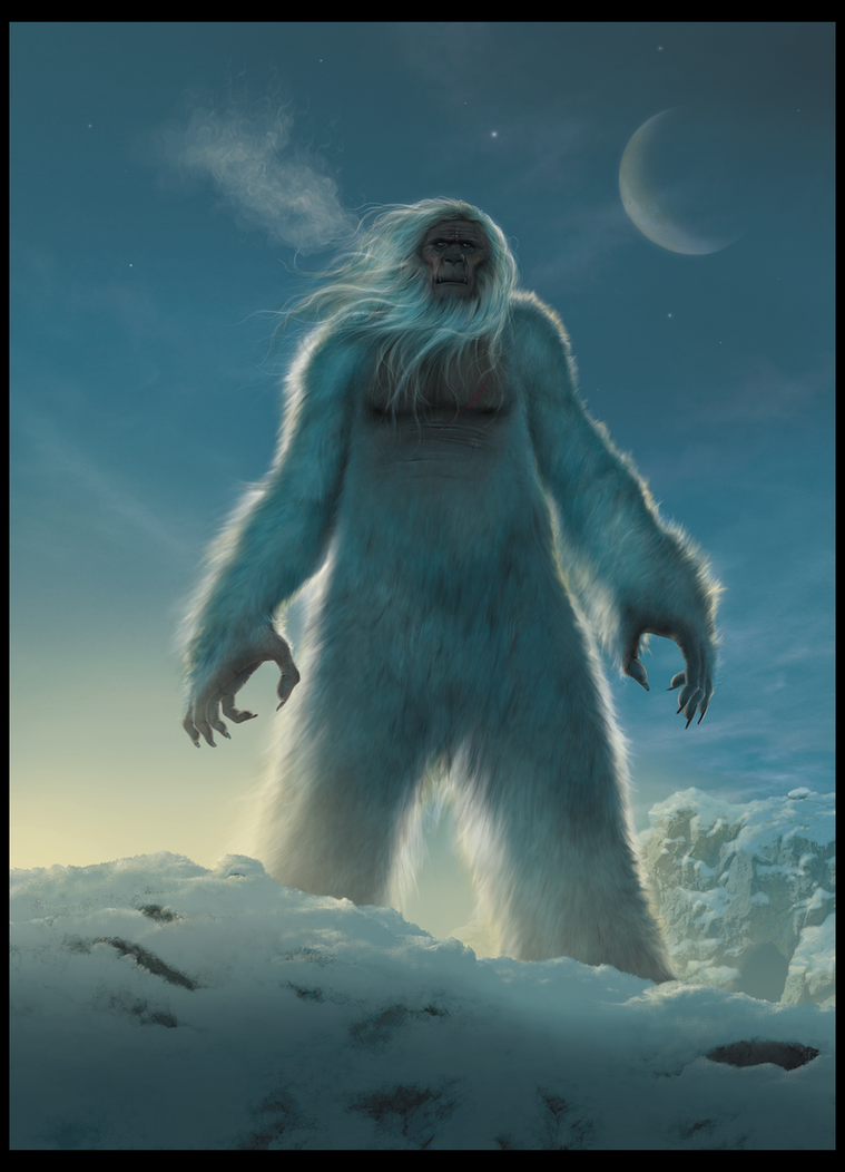 Are you...an angel? - Página 2 Yeti_by_wallace