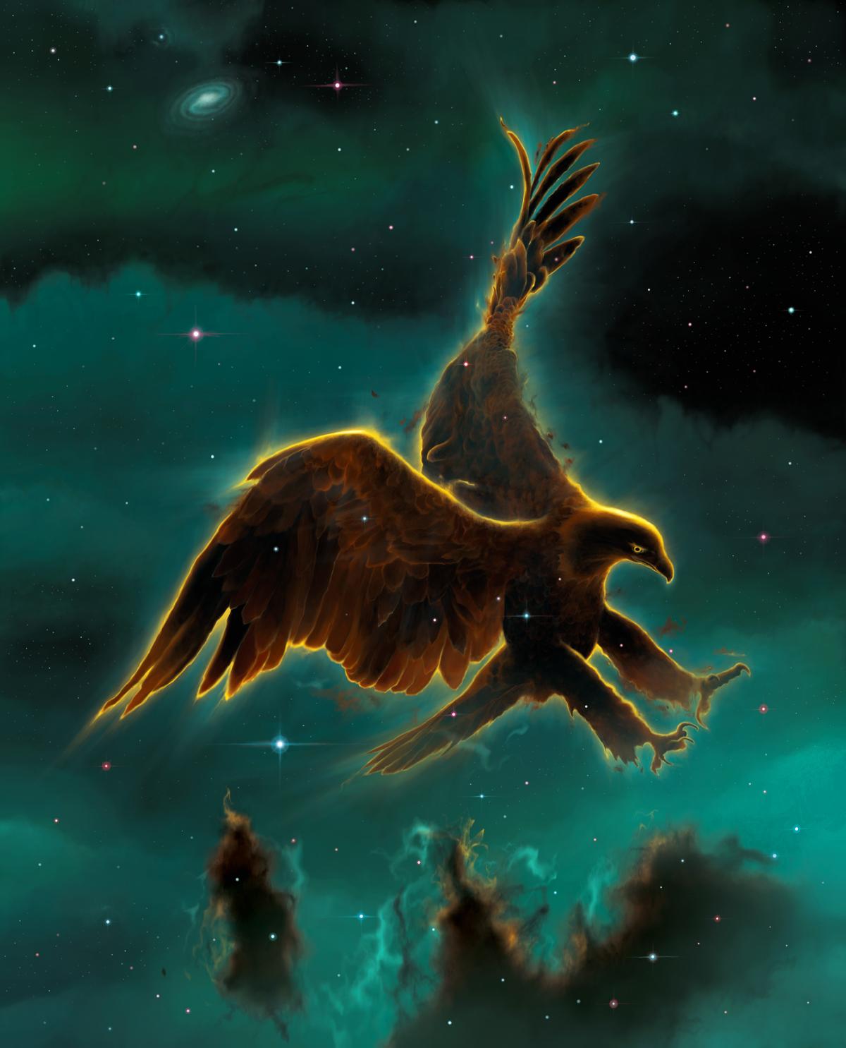 Eagle Nebula by Wallace dans Divers 51a0179e9e8a9873a092ee535a4336f2