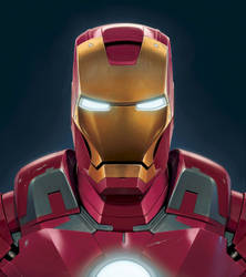 Iron Man Mark 7 by wallace
