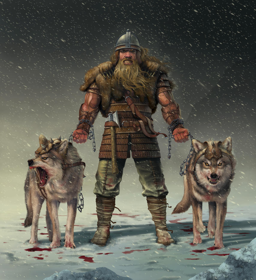 Mountain Viking by wallace