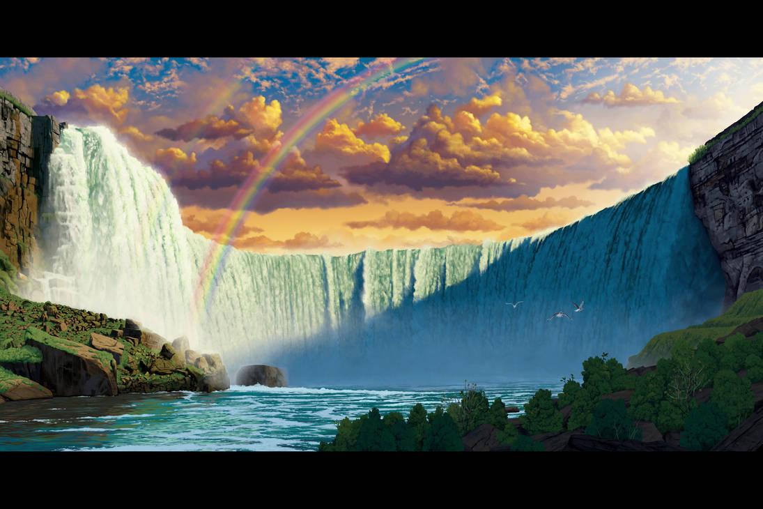 Niagara Falls by wallace