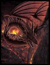 HellFire Dragon by wallace