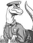 Raptor policeman by Symplee-D